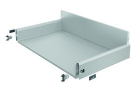 Tiroir complet à casseroles / tiroir intérieur à casseroles HETTICH ArciTech, argent