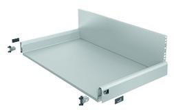 Komplett-Schubkasten HETTICH ArciTech, silber