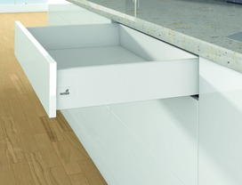 Sistema di spondine HETTICH ArciTech, bianco, altezza spondine 126 mm