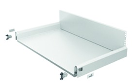 Tiroir complet à casseroles / tiroir intérieur à casseroles HETTICH ArciTech, blanc