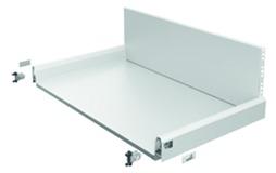 Cassetto con ringhierina preassemblato / cassetto con ringhierina interno HETTICH ArciTech, bianco, 94 / 282 mm