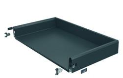 Komplett-Schubkasten / Innenschubkasten HETTICH ArciTech, anthrazit, 126 / 126 mm