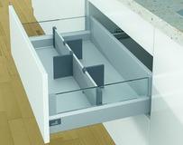 Organizzazione interna per cassetti HETTICH OrgaStore 810 argento