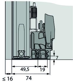 Guide a estrazione totale HETTICH Actro 5D Silent System