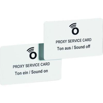 Servicekarte Ton ein / aus Proxy 125 kHz<br/>