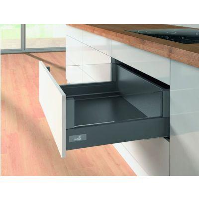 Kit tiroirs à casseroles avec DesignSide HETTICH InnoTech Atira, LN 300 mm / 176 mm, anthracite