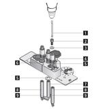 Inbusschrauben M8x16 für DrillJig