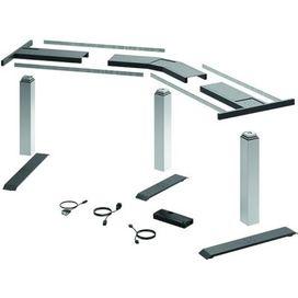 LDS-Tischgestell-Set 135° silber