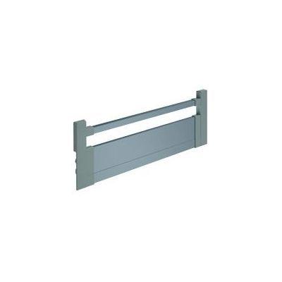 Front für Innenauszug HETTICH InnoTech Atira, 400 mm x 144 mm, grau, silber