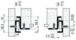 Teilauszüge FULTERER FR 505 SCC aufl., Edelstahl