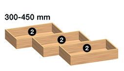 Holzboxen-Set