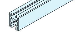 EKU 042.3007.350 Rahmensprosse, Alu eloxiert, 3500 mm