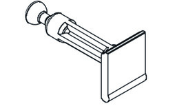 EKU 053.3111.001 Boulon d'assemblage, perçage 34 mm