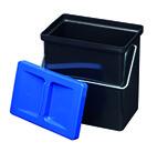 Petit récipient 4 avec couvercle bleu MÜLLEX Art. n. 4163