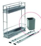 Rollenbehälter zu Putzmittelauszug Müllex Art-Nr. 9651