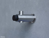 Fermaporta per montaggio sulla parete Nr. articolo PHOS H20-55TS