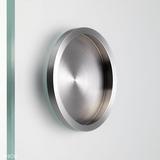 Poignées cuvettes pour portes en bois et verre n°d'art. PHOS STG70F