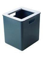 MÜLLEX EURO-BOXX poubelles 35L gris, emb