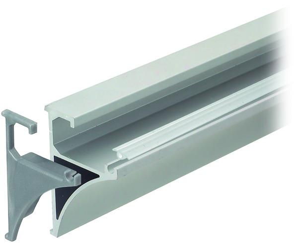 Profil porteur pour rayons en verre