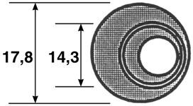 Rondelles excentriques