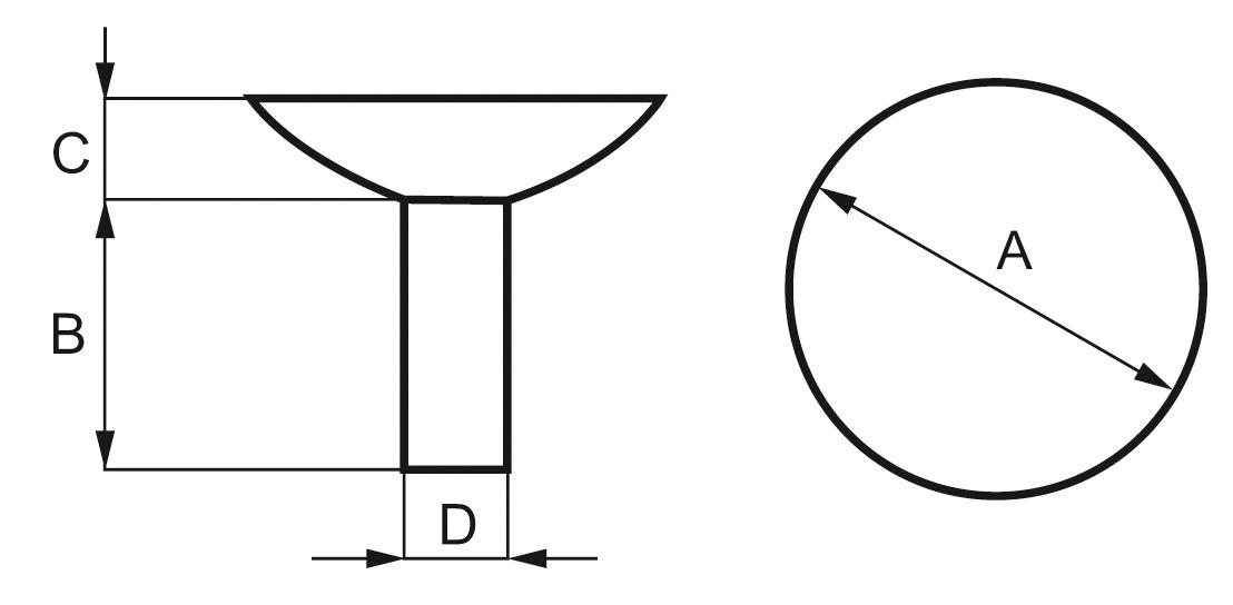 Support à ventouses pour panneaux en verre