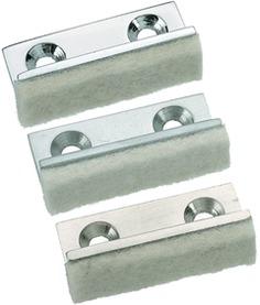 Anschlagpuffer für Glastüren