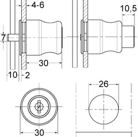 Cylindre à pression  - P5000