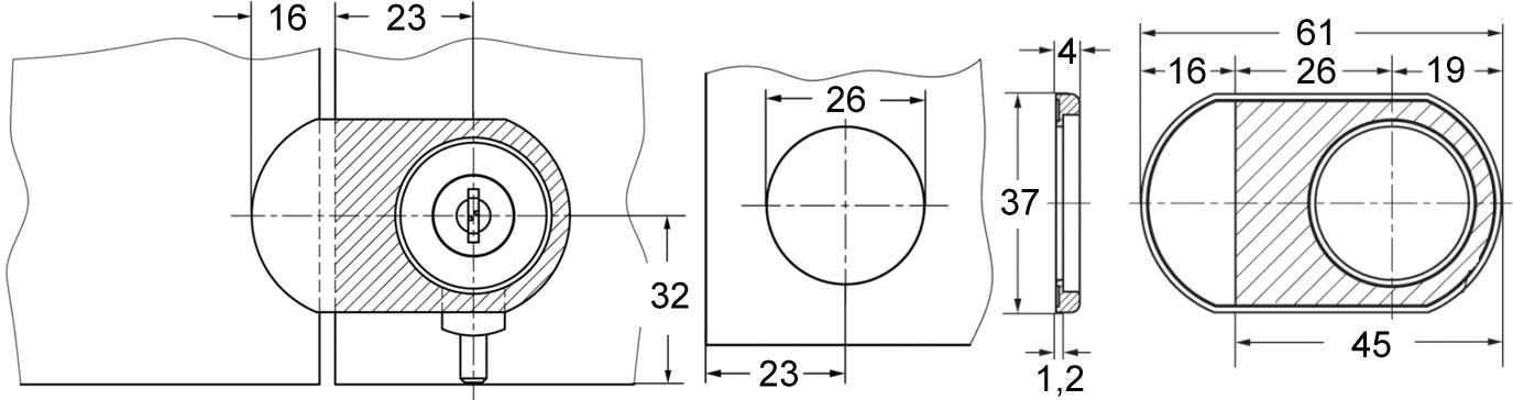 Anschlagplatten WKS - P5000