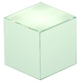 Cubo in vetro