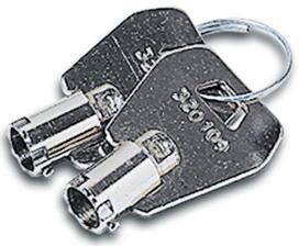 Chiavi di ricambio per serrature ante in vetro