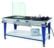 Table pour collage de verre Deluxe Verifix® pour les collages à 45°/90°