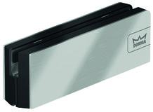 Ferrement d'angle inférieur PT 10 pour installations entièrement en verre DORMA Mundus Comfort