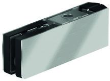 Ferrement d'angle supérieur PT 20 pour installations entièrement en verre DORMA Mundus Comfort