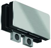 Assemblage d'impostes PT 70 d'angle pour installations entièrement en verre DORMA Mundus Comfort