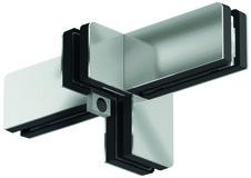 Equerre de fixation PT 61 pour installations entièrement en verre DORMA Mundus Comfort