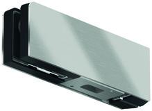 Contre-boîtes d'imposte GK 30 pour installations entièrement en verre DORMA Mundus Comfort