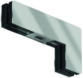 Contre-boîtes d'imposte d'angle GK 40 pour installations entièrement en verre DORMA Mundus Comfort
