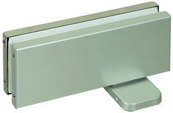Ferme-porte pour portes va-et-vient pour installations entièrement en verre PDC-100/100-S