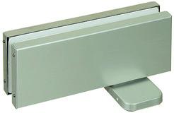 Ferme-porte pour portes va-et-vient pour installations entièrement en verre PDC-105/105-S