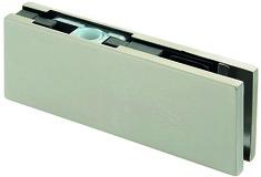 Ferrement d'angle supérieur pour installations entièrement en verre KPF-2P/2X