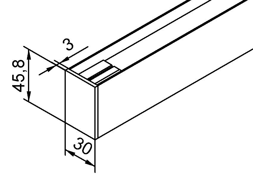 Caches pour pinces de serrage pour verre HELM 53/73