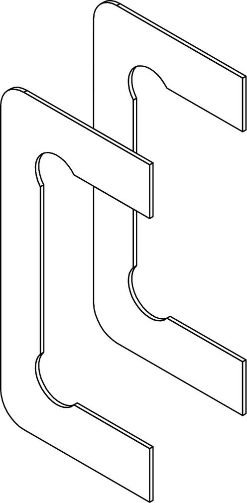 Câle pour verre trempé de 10 mm GRAL