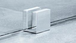 Fissaggio al pavimento per le parti fisse GRAL Design QUADRAT