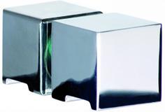 Glastürknöpfe GRAL Design QUADRAT