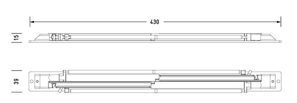 Unité d'amortissement OK-LINE Slideflex