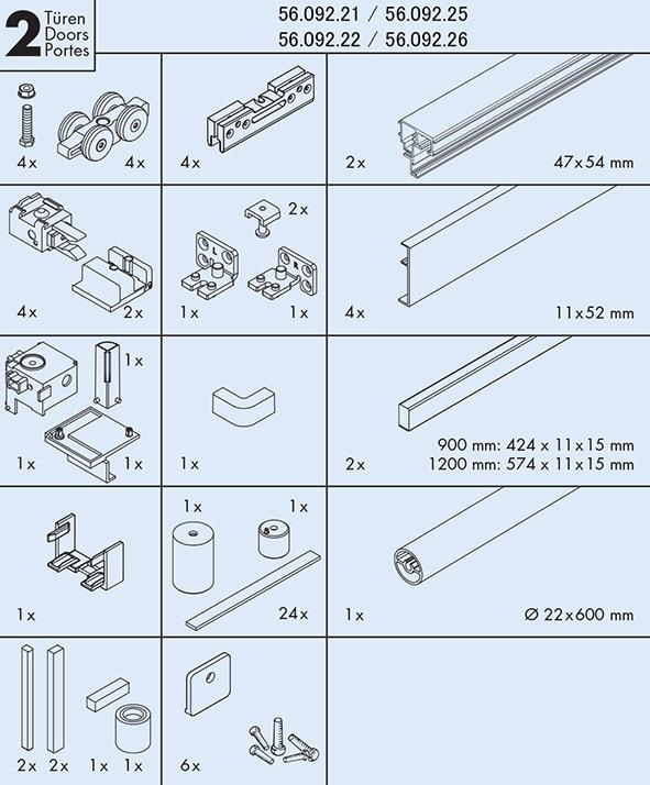 Komplett-Set EKU-BANIO 40 GFE