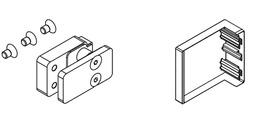 Kit di montaggio con mascherina a pressione EKU-BANIO 40 GF