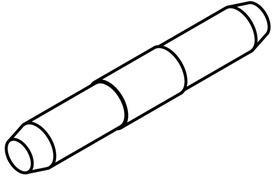 Verbindungsstifte zu Laufschiene