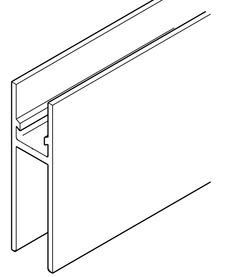 Profilo portante e profilo di tenuta vetro