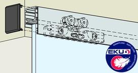 Ferrements pour portes coulissantes EKU-PORTA 100 GMD